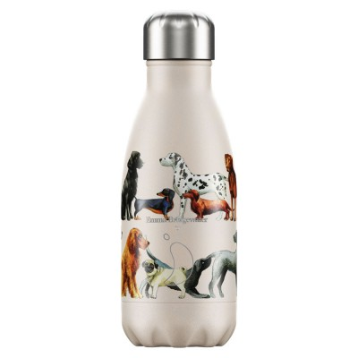 Chilly's Bottle Pink Dogs 260ml