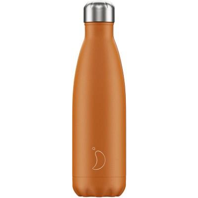 Chilly's Bottle Matte Burnt Orange 500ml