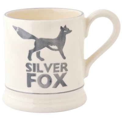 Half Pint Mug Silver Fox