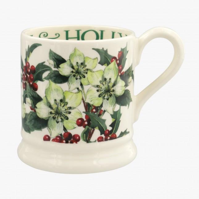 Half Pint Mug Hellebore & Holly