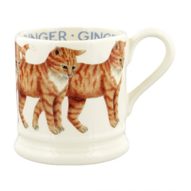 Half Pint Mug Cat Ginger