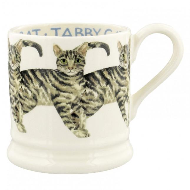 Half Pint Mug Cat Tabby