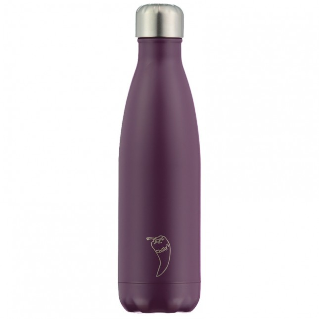 Chilly's Bottle Matte Purple 500ml