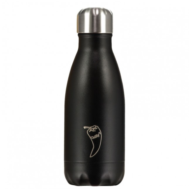 Chilly's Bottle Matte Black260ml