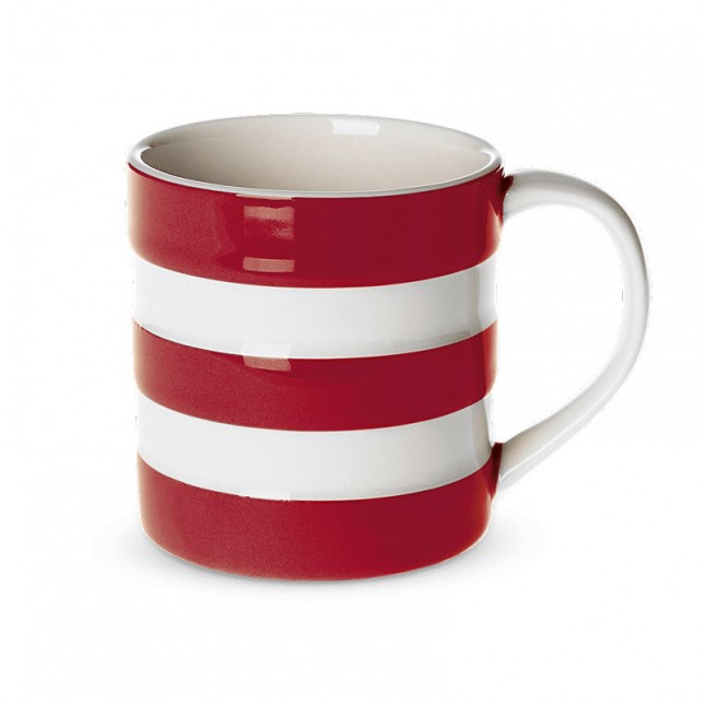 Mug 6 oz. 180 ml. Cornish Red