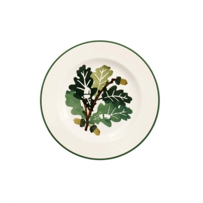 6 1/2 Inch Plate Oak