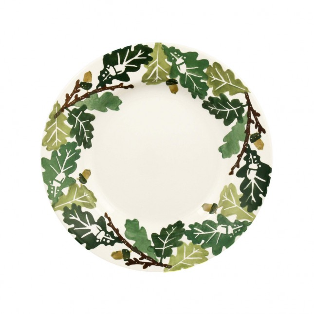 8 1/2 Inch Plate Oak