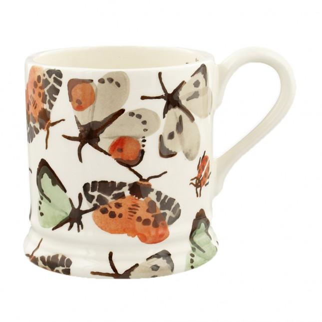 Half Pint Mug Butterflies & Bugs