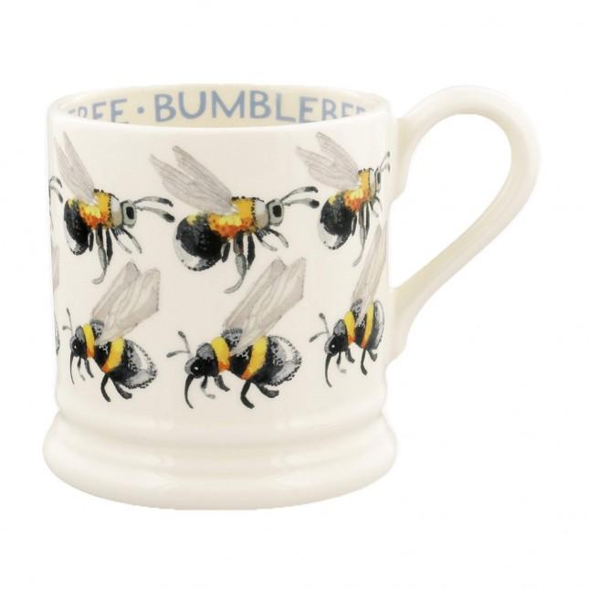 Half Pint Mug Flying Bumble Bees