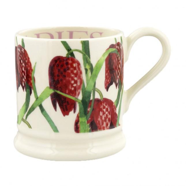 Half Pint Mug Flowers Snakeshead Fritillary