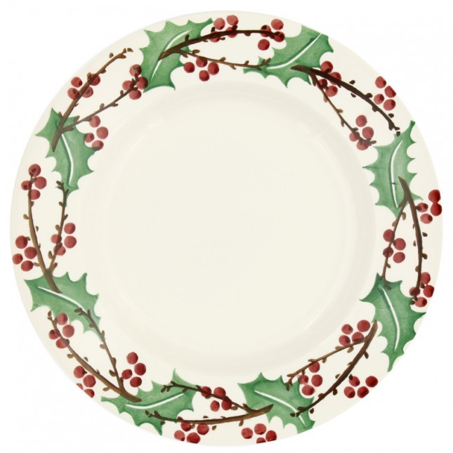 10 1/2 Inch Plate Winter Berry