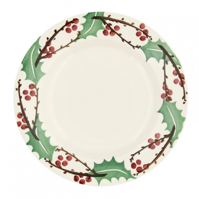 8 1/2 Inch Plate Winter Berry