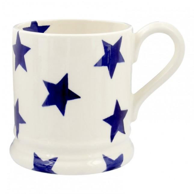 Half Pint Mug Blue Star