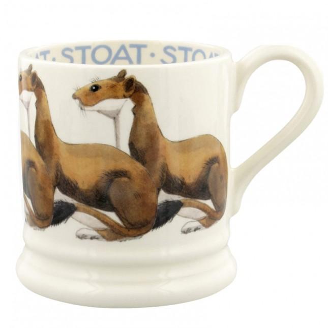 Half Pint Mug Stoat