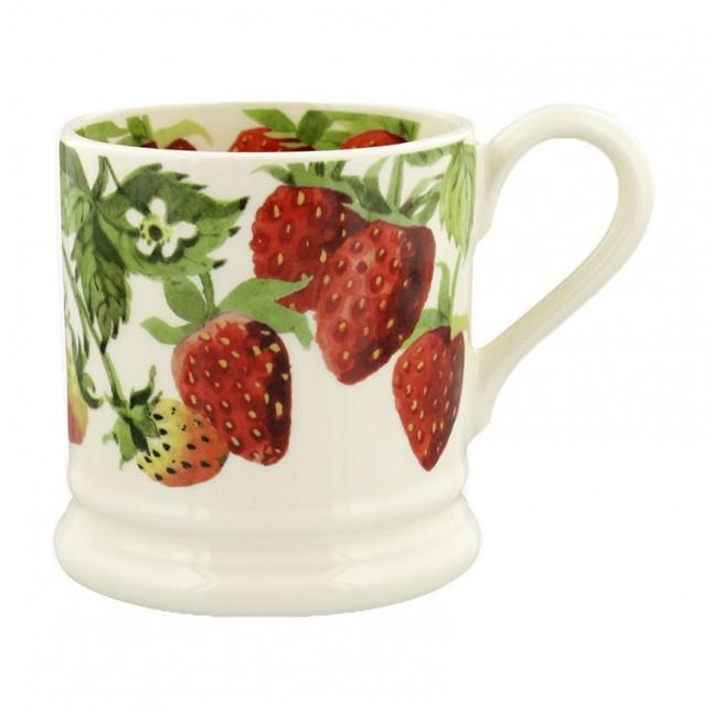 Half Pint Mug Vegetable Garden Strawberries