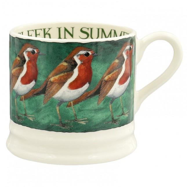 Small Mug Robin on the Green
