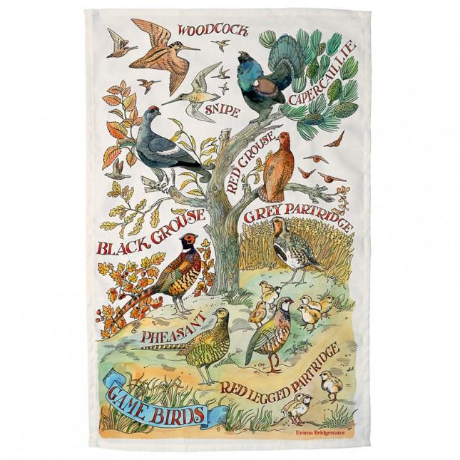 Theedoek Game Birds