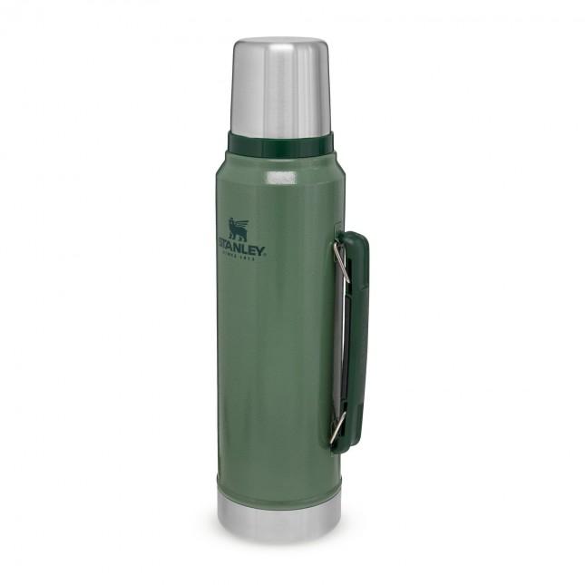 The Legendary Classic Bottle 1,00L Hammertone Green