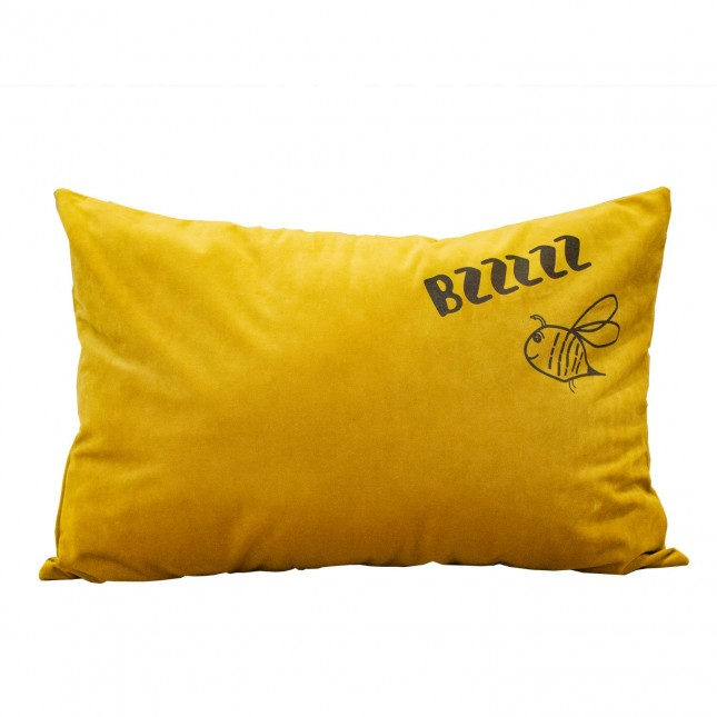 Kussen Fluweel Bzzzz Bee
