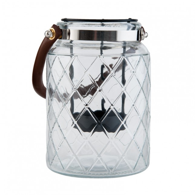 Windlicht Glas Trellis Klein