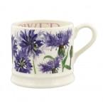Small Mug Flowers Cornflower