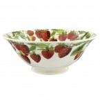 Serving Bowl Vegetable Garden Strawberries