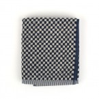 Handdoek BC Small Check Dark Blue