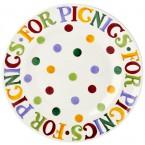 Melamine Bord Polka Dots