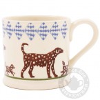 Small Mug Dog Spotty