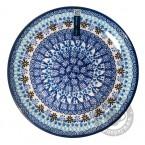 Bord 20 cm. Blue Coral