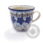 Tulp Mug 200ml. Blue Violets