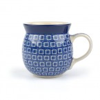 Farmers Mug Blue Diamond
