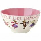 Melamine Bowl Dancing Mice