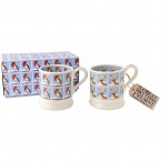Half Pint Mug Christmas Stamps (set)