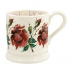 Half Pint Mug Red Rose
