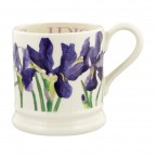 Half Pint Mug Flowers Iris