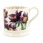 Half Pint Mug Flowers Pasque