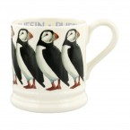 Half Pint Mug Birds Puffin