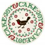 8 1/2 Inch Plate Christmas Joy
