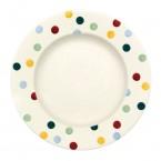 10 1/2 Inch Plate Polka Dots