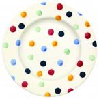 8 1/2 Inch Plate Polka Dots
