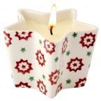 Star Candle Christmas Joy