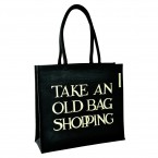 Jute tas Take An Old Bag Shopping