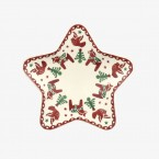 Star Plate Christmas Joy