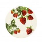 6 1/2 Inch Plate Vegetable Garden Strawberries