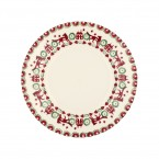 8 1/2 Inch Plate red & Green Joy