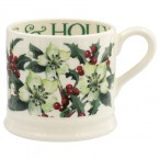 Small Mug Hellebores & Holly