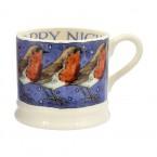 Baby Mug Robin in a starry night