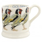 Half Pint Mug Birds Goldfinch