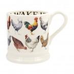 Half Pint Mug Rise & Shine Hens Row